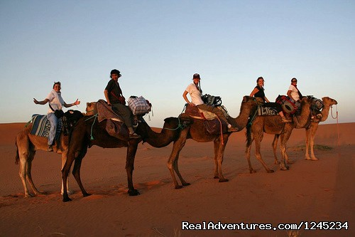 One Night in Erg Chebbi  (#3 of 4) - Camel Trekking -Merzouga- Erg chebbi sand dunes