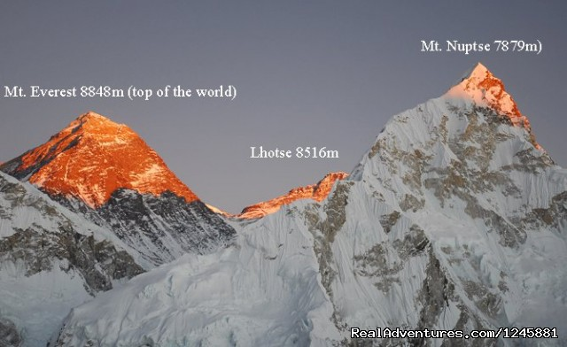 Mt everest  - Amazing Authentic Treks & Expedition (P) Ltd.