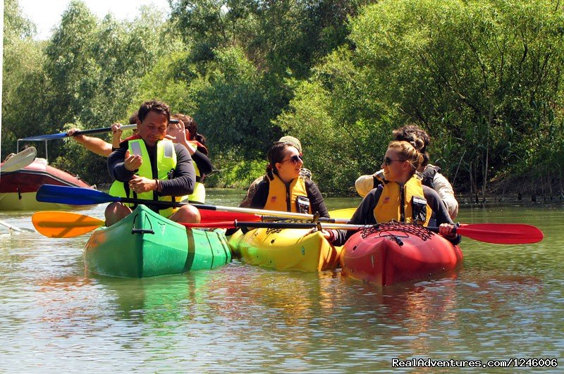 Kayaks and Canoes tour