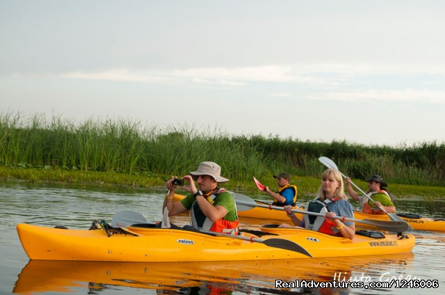 Kayak Touring in Danube Delta - Danube Delta Kayak Tour, 3days/2nights, 2015