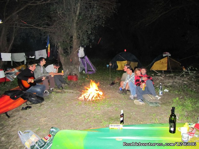 Night camp in Danube Delta - Danube Delta Kayak Tour, 3days/2nights, 2015