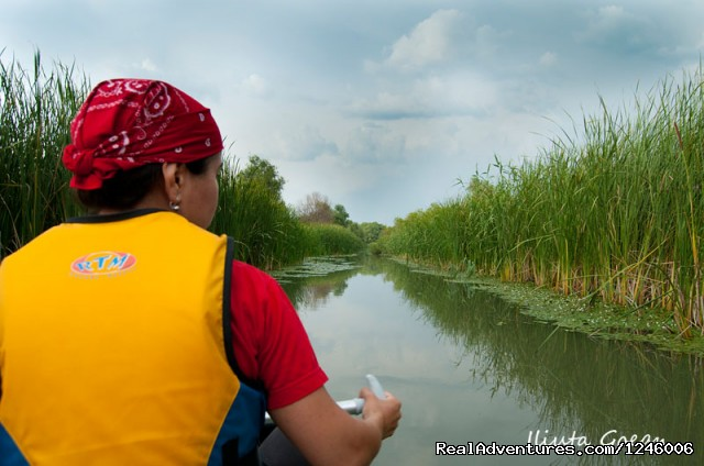 Small channel - Danube Delta Kayak Tour, 3days/2nights, 2015