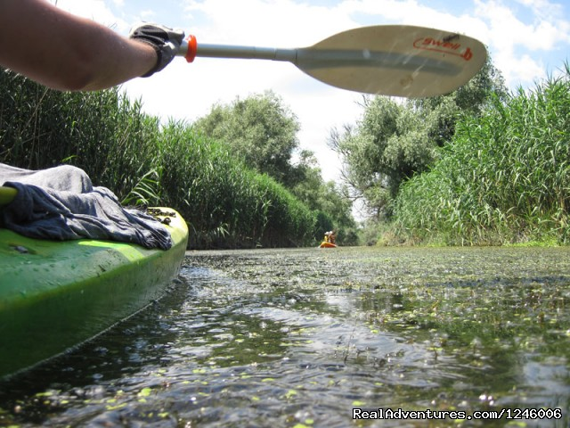 Untouched by motor boats - Danube Delta Kayak Tour, 3days/2nights, 2015