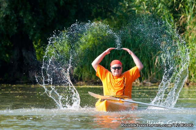 Love kayak - Danube Delta Kayak Tour, 3days/2nights, 2015