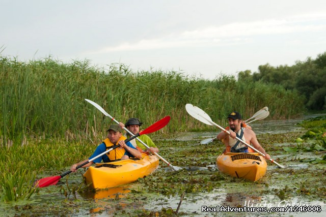 Wild channel (#19 of 26) - 5 Days Kayaking in Danube Delta, Adventure all-in
