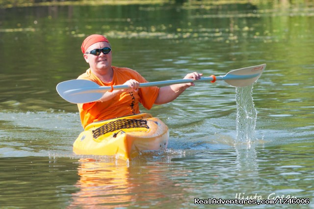 Having good time - Danube Delta Kayak Tour, 3days/2nights, 2015