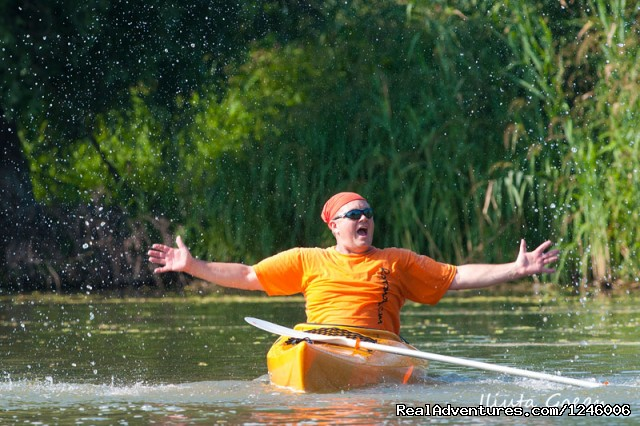 One happy man (#24 of 26) - 5 Days Kayaking in Danube Delta, Adventure all-in