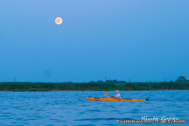 Paddling in the night - Danube Delta Kayak Tour, 3days/2nights, 2015