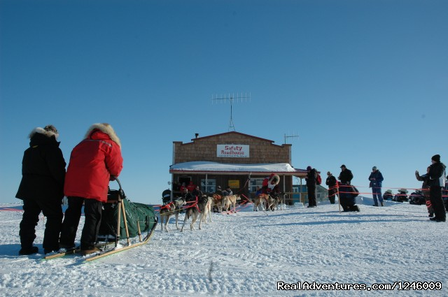 Safety Checkpoint - Iditarod Sled Dog Race Tours & Arctic Adventure