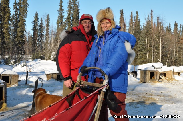 Dog Mushing Galena - Iditarod Sled Dog Race Tours & Arctic Adventure