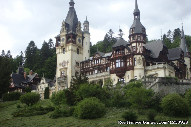 Peles Castle - Count Dracula Tour
