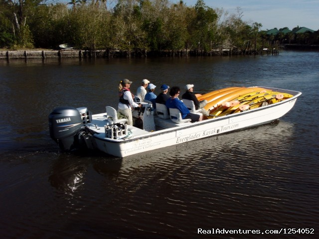 Boat Assisted Kayak Eco Tour (#1 of 14) - Everglades Nat'l Park - Boat Assisted Kayak Tour