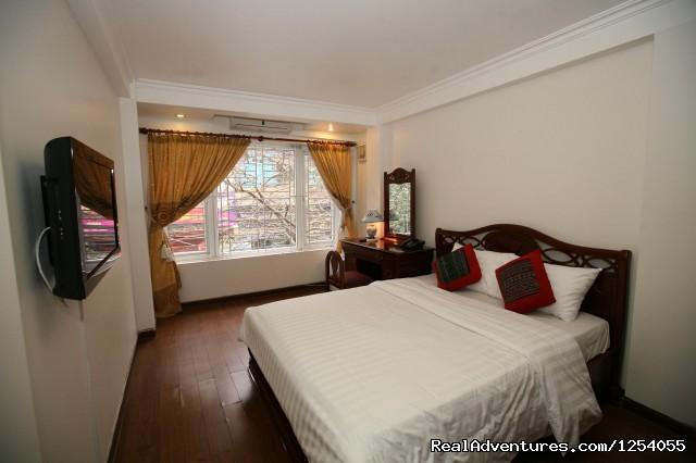 Deluxe double room (#2 of 4) - Hotel in Hanoi central of Vietnam