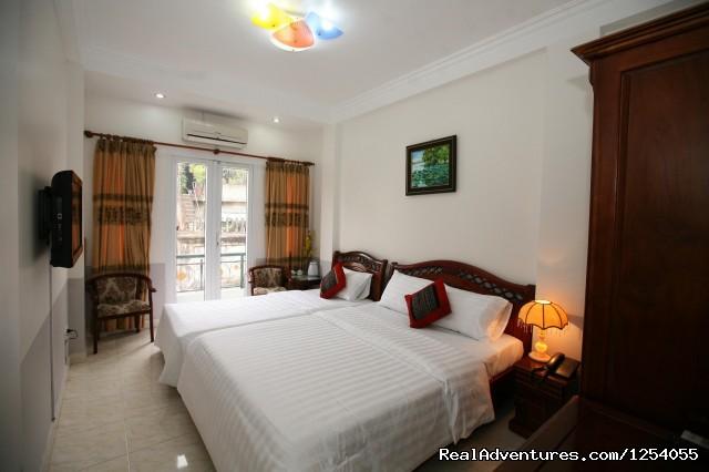 Deluxe family room (#3 of 4) - Hotel in Hanoi central of Vietnam