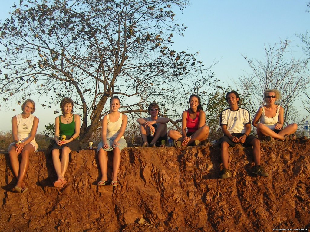 Sunset watching with students | Image #3/11 | Learn Spanish at beautiful Tamarindo Beach