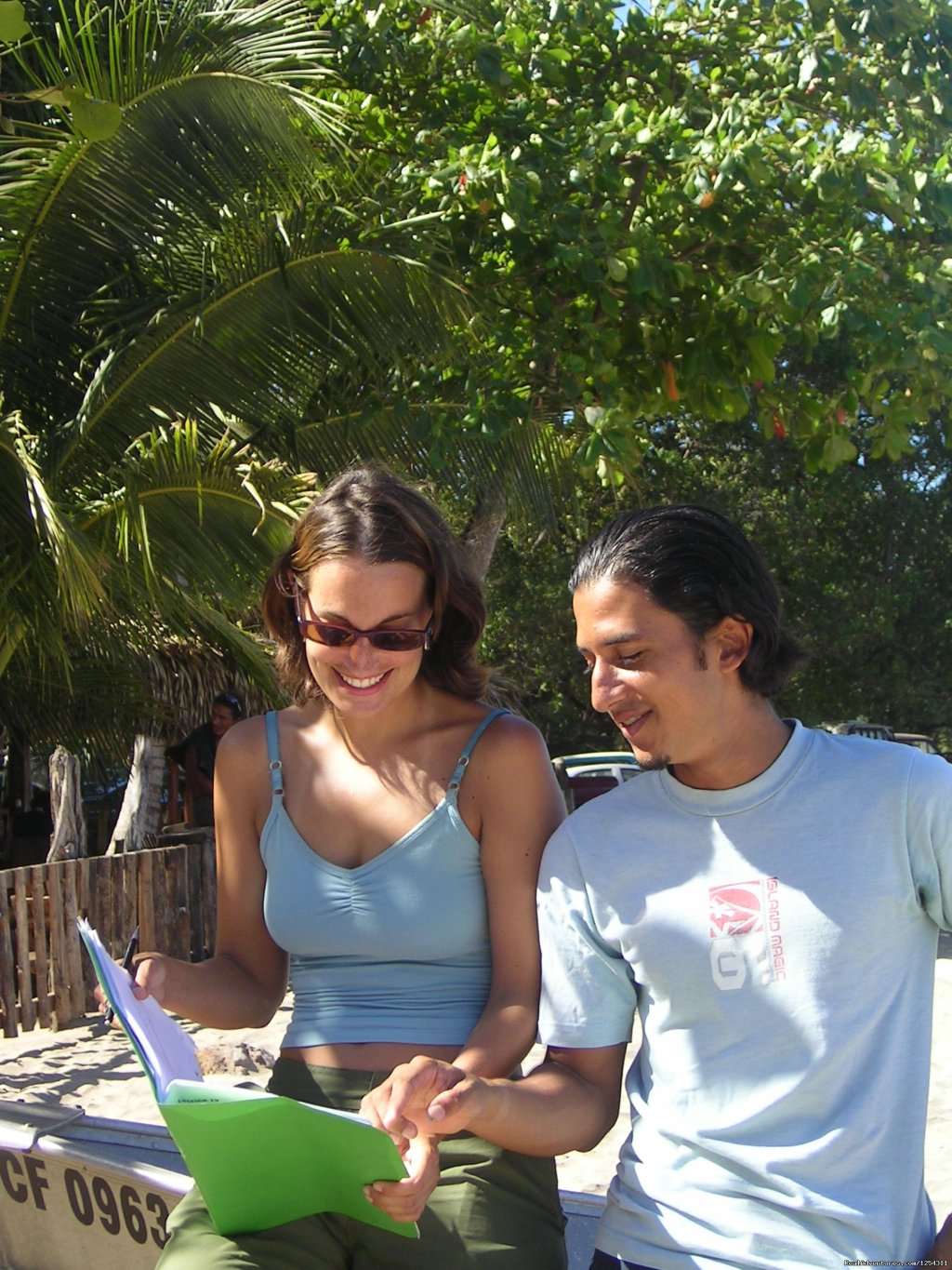Studying right at the beach | Image #4/11 | Learn Spanish at beautiful Tamarindo Beach