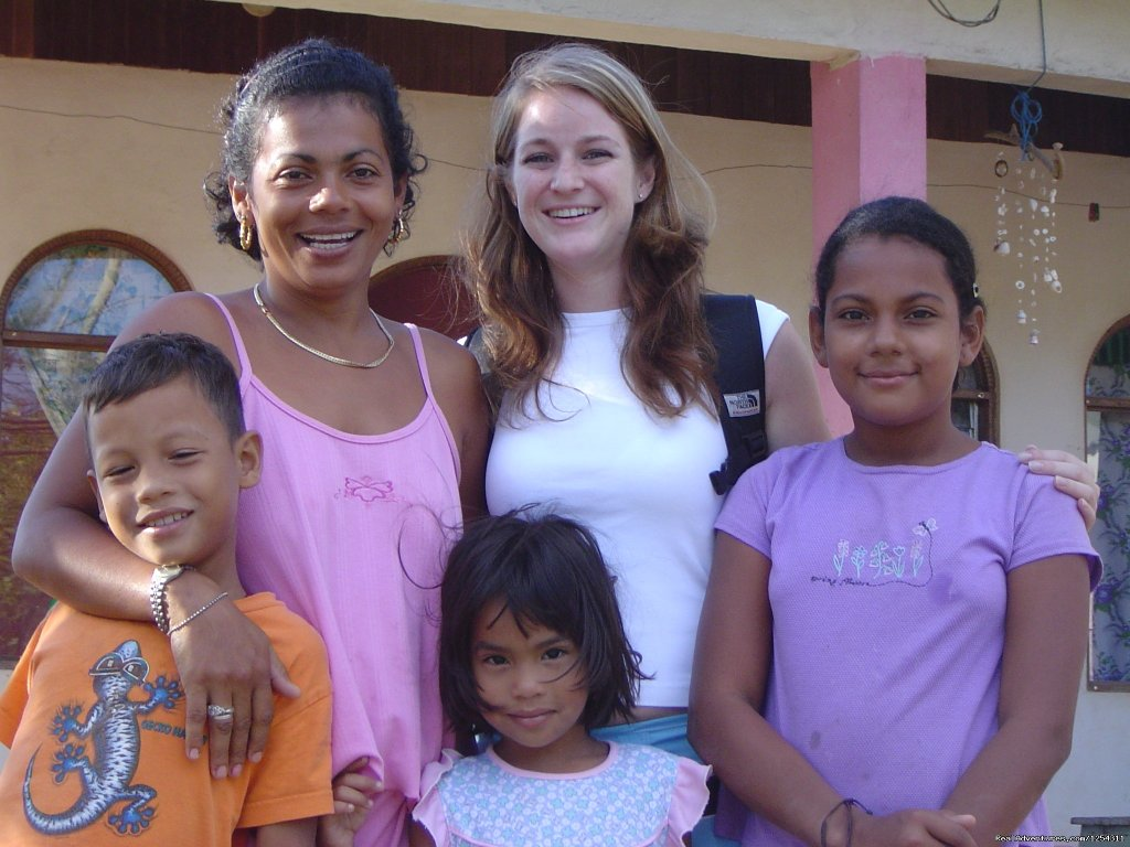 Student with a host family | Image #7/11 | Learn Spanish at beautiful Tamarindo Beach
