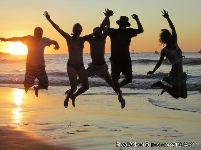 Students at the beach | Image #11/11 | Learn Spanish at beautiful Tamarindo Beach