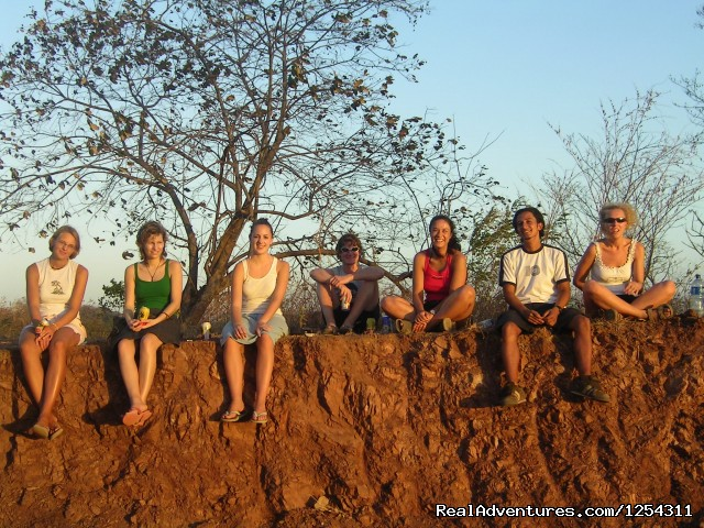 Sunset watching with students - Learn Spanish at beautiful Tamarindo Beach
