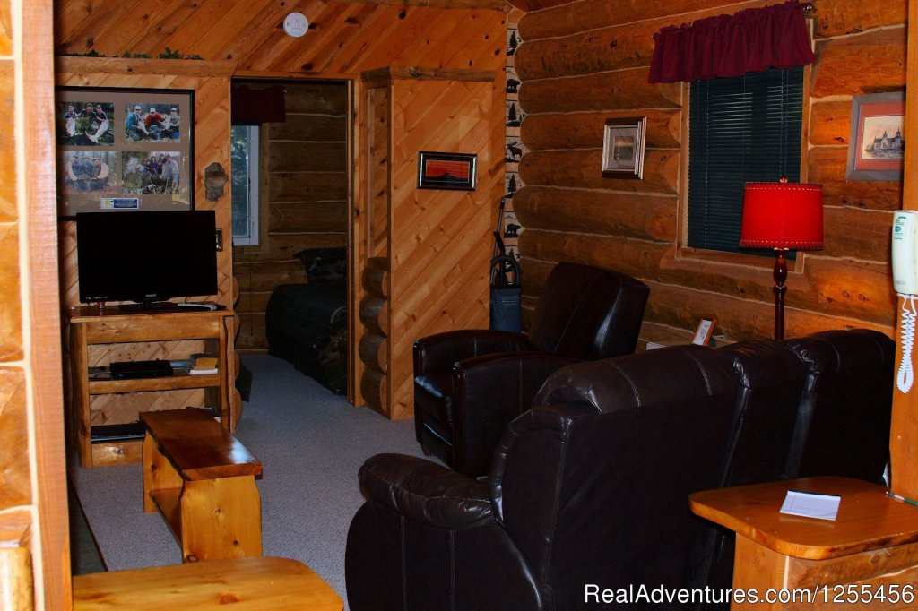 Moose Cabin - Den | Image #4/26 | Unique Lodging and Exciting Adventures in Alaska