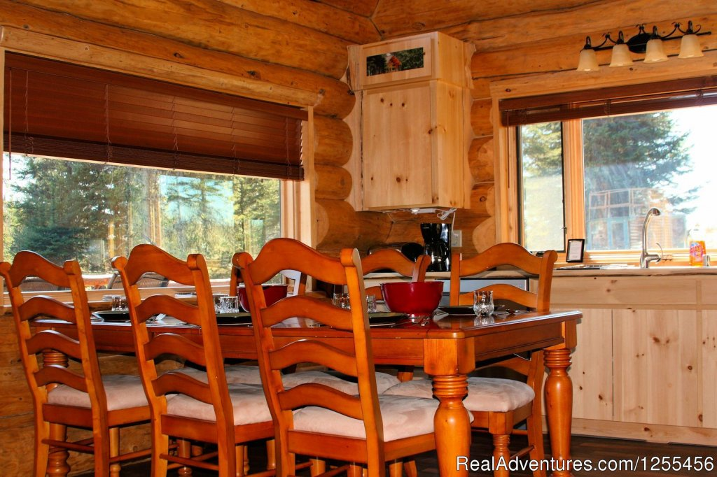 Captain Cook Ldoge - Dinning area | Image #18/26 | Unique Lodging and Exciting Adventures in Alaska