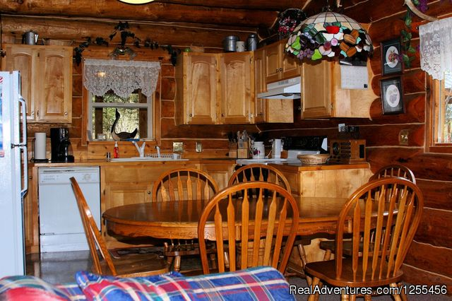 Wise Old Hunter Lodge - Kitchen - Unique Lodging and Exciting Adventures in Alaska