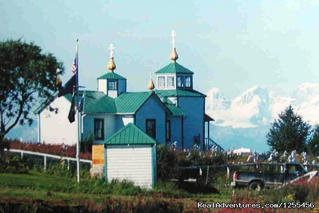 Old Russian Church - Unique Lodging and Exciting Adventures in Alaska