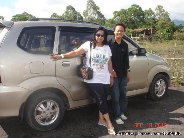 Abbe Bali Driver Abbe with Varsha sing Sondhi
