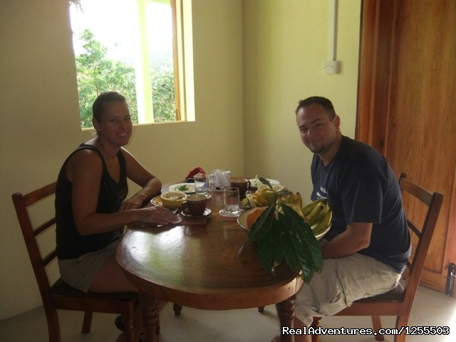 Guest at Serenity - Affordable vacation in Dominica