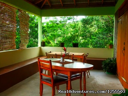 Mountain View Restaurant - Affordable vacation in Dominica