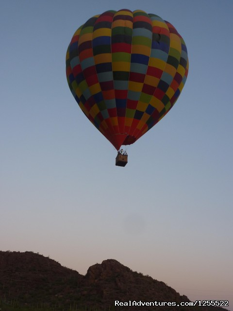 Floating at dawn (#4 of 9) - Tucson Balloon Rides
