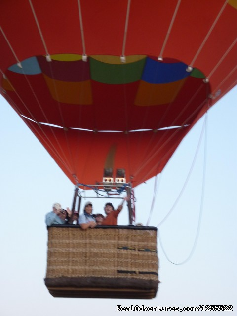 Lift-off - Tucson Balloon Rides