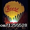 Cheers Over California Balloon Glow
