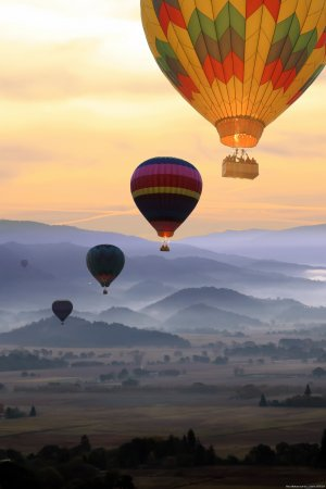 Calistoga Hot Air Balloons of Napa Valley Ballooning Calistoga, California