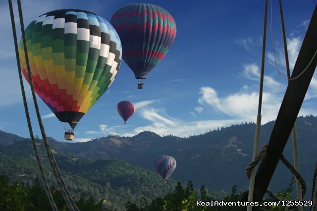 Calistoga Balloons Over the Mayacamas - Calistoga Hot Air Balloons of Napa Valley