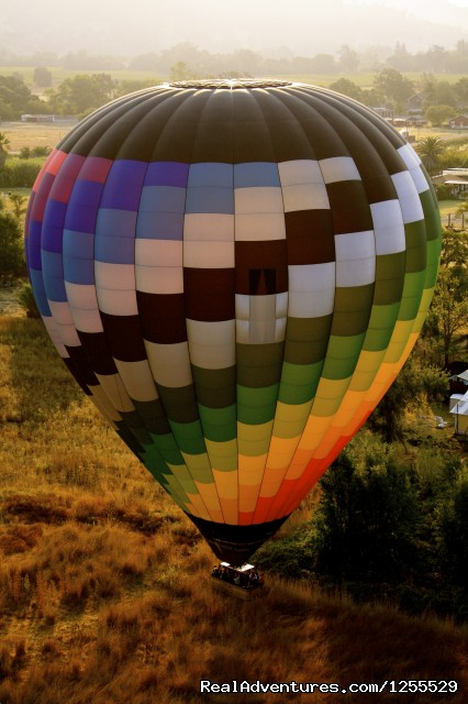 Calistoga Balloons Over Napa Valley - Calistoga Hot Air Balloons of Napa Valley