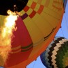 Calistoga Balloons - Napa Valley - balloon inflation