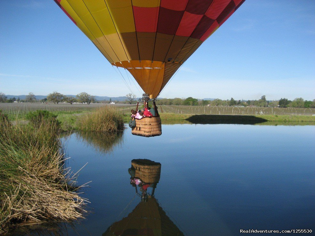 Kiss the water | Image #3/13 | Up & Away Ballooning
