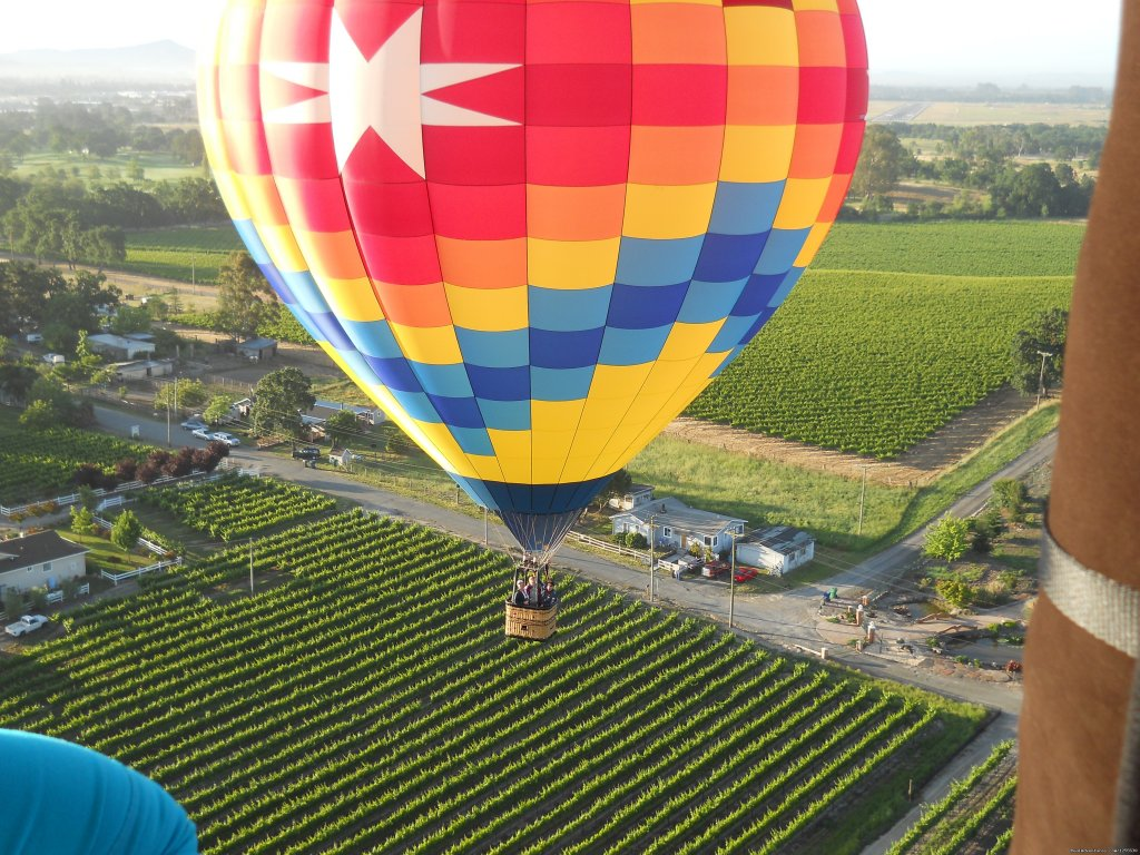 This balloon was used in the iphone 4s commercial | Image #7/13 | Up & Away Ballooning