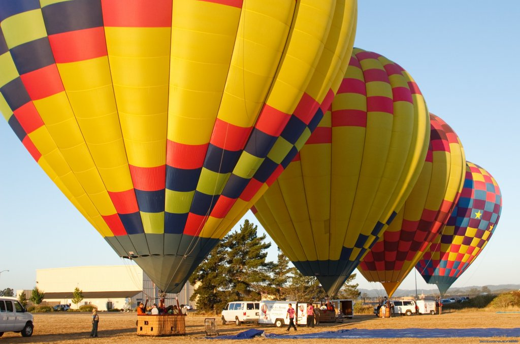 Getting ready to fly | Image #10/13 | Up & Away Ballooning