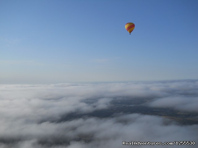 You can see for miles - Up & Away Ballooning