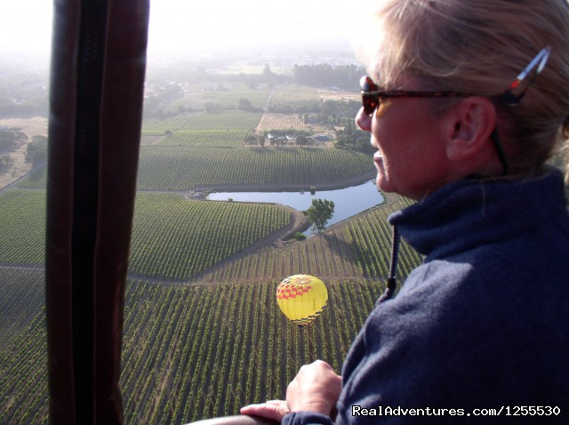 How relaxing - Up & Away Ballooning