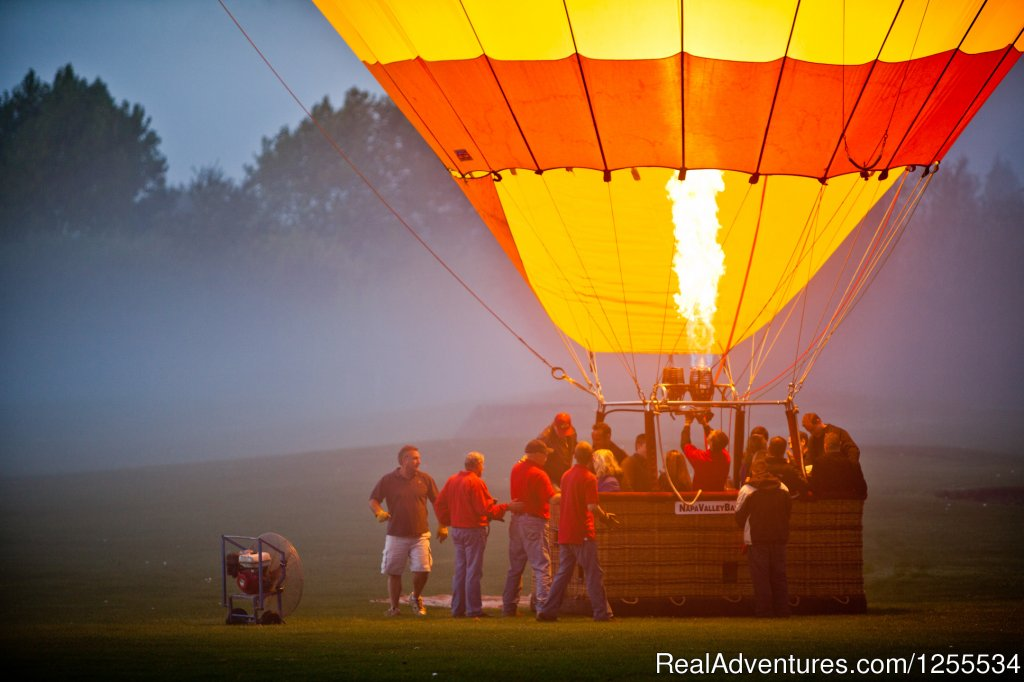 Wake up and Take Flight | Image #2/6 | Napa Valley Balloons