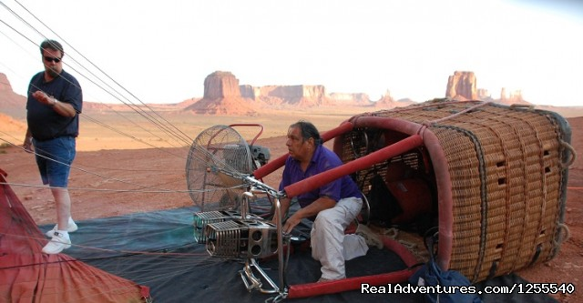 - Monument Valley Hot Air Balloon Company