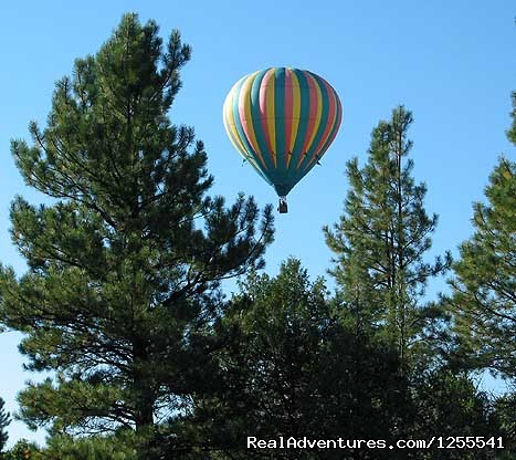 Drifting Over The Country Side - Wind Wranglers Balloon Company