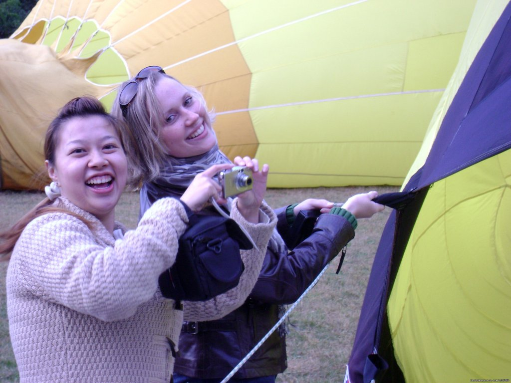 Image #3/4 | New Englands premier hot air balloon ride operator