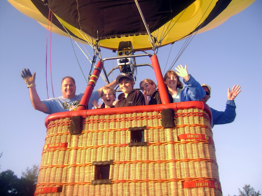 Image #4/4 | New Englands premier hot air balloon ride operator