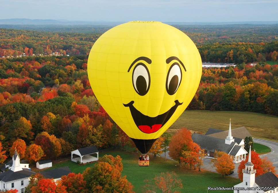 Fall foliage flight | Image #2/4 | New Englands premier hot air balloon ride operator