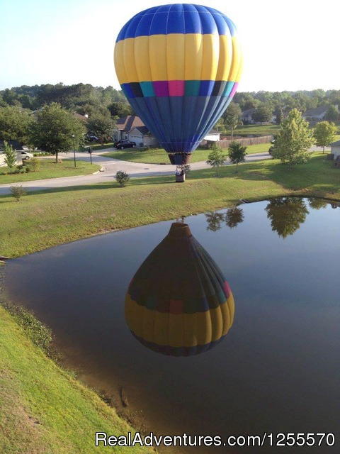 Romantic, Sunrise, Champagne Hot Air Balloon Rides