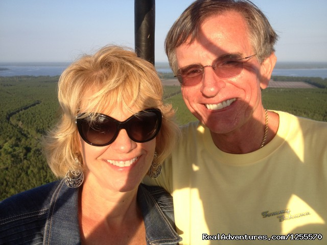 First Date Flights - A Hot Air Balloon Ride in St Augustine, FL